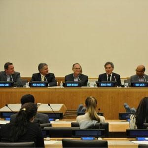 FAU Participates in Forum on Technology and Education at the United Nations Headquarters in New York