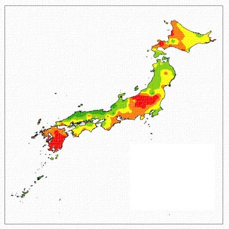 Japan-Autocorrelation